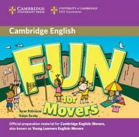 Fun for Movers 2nd Edition: Audio CD