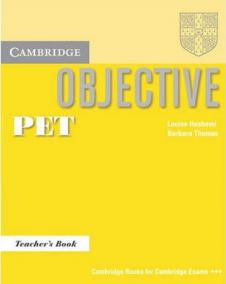 Objective PET: Teacher´s Book