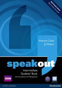 Speakout Intermediate Students´ Book with DVD/Active book and MyLab Pack